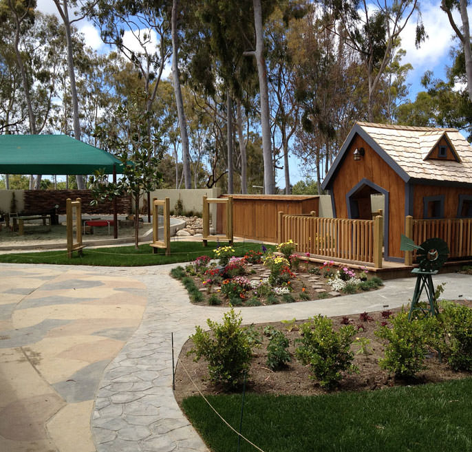 Outdoor Playground Preschool Early Childhood